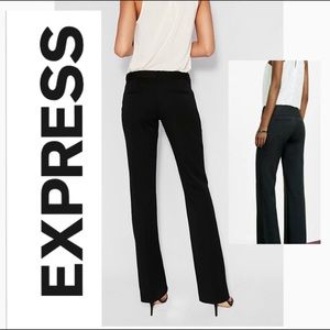 Express Editor Black dress pants 10L long